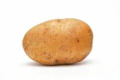 Potato. Single large potato isolated against a white background stock photo