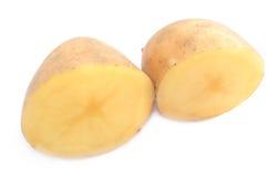 Potato. Over white background Royalty Free Stock Image