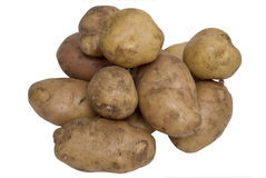 Potato. Isolated on a white background Stock Photo