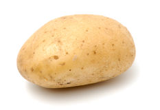 Potato. A baking potato, shot from the side Royalty Free Stock Photo