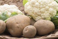 Free Potato And Cauliflower Royalty Free Stock Photo - 41159445