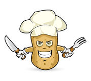 Potato - angry Royalty Free Stock Images