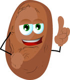 Potato with attitude Royalty Free Stock Photo