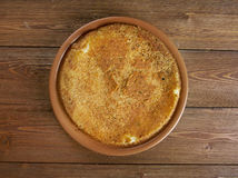 Potato babka Stock Images