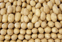 Potato background Stock Photo