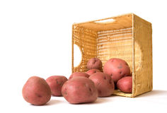 Potato Basket Royalty Free Stock Images