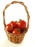 Potato basket Royalty Free Stock Image