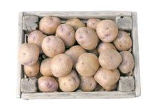 Potato box Stock Photo