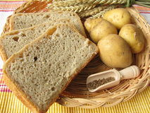 Potato bread Royalty Free Stock Photography