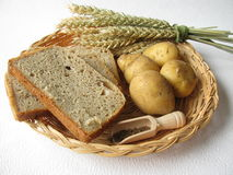 Potato bread Stock Image