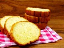 Potato bread. Freshly baked loaf of yellow potato bread Stock Photo