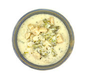Potato Broccoli and Cheese Soup Royalty Free Stock Images
