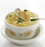 Potato, Broccoli And Cheese Soup Royalty Free Stock Photography