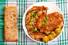 Potato cakes Stock Image
