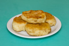 Potato cakes with meat Royalty Free Stock Images