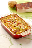 Potato casserole Royalty Free Stock Photography