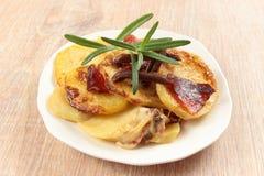Potato casserole Royalty Free Stock Image