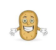 Potato - Cheerful Royalty Free Stock Photography