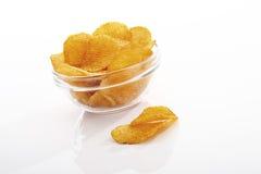 Potato chili chips Stock Photos