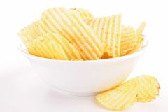 Potato chip Stock Photos
