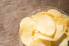 Potato Chip Most Popular Snack Stock Photo