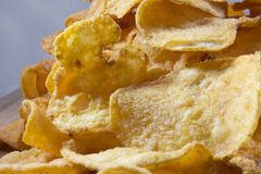 Potato Chip Pile 2 Royalty Free Stock Images