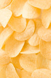 Potato chips. Background of the potato chips stock photography