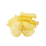 Potato chips. Royalty Free Stock Photography