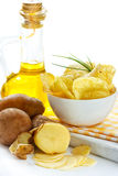 Potato chips. Royalty Free Stock Image