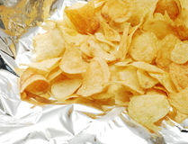 Potato chips Royalty Free Stock Photography
