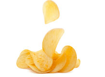 Potato Chips Royalty Free Stock Photography