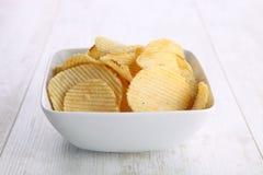 Free Potato Chips Royalty Free Stock Photo - 27727575