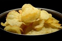Potato chips stock image