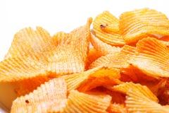 Potato chips background Stock Photography