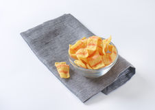 Potato chips with bacon flavor Stock Photography