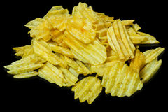 Potato chips Stock Photography