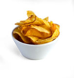 Potato chips bowl Stock Photo