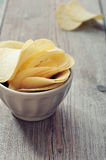 Potato chips Stock Image