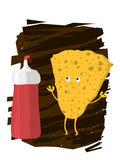 Potato Chips Character Stock Images