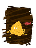Potato Chips Character Royalty Free Stock Images