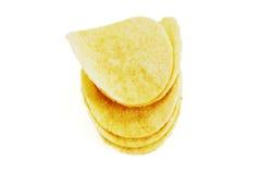 Potato Chips. Close-up of potato chips Stock Photography