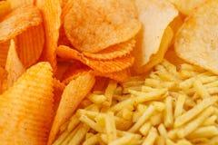 Potato chips Royalty Free Stock Photo