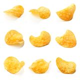 Potato chips composition Stock Photography