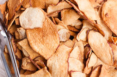 Potato chips. The details of potato chips Royalty Free Stock Images