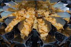 Potato chips factory Royalty Free Stock Photography