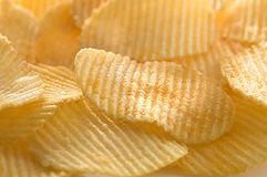 Potato chips. Food.background Royalty Free Stock Photography