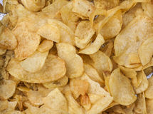 Potato chips. Image of potato chips Stock Photo