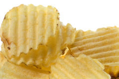 Potato Chips Isolated Stock Photos