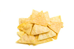 Potato Chips Isolated Royalty Free Stock Photo