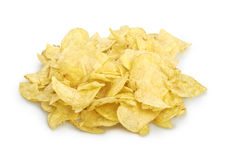 Potato chips isolated Stock Images